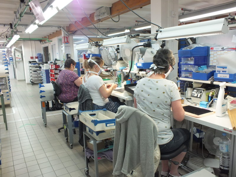 Restart of activity at the Manufacture de Lunetterie THIERRY S.A.